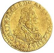 ½ Ducat - Karl Ludwig (Rheingold) – obverse
