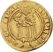 1 Goldgulden - Ruprecht I. der Rote (Bacharach) – obverse