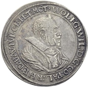 1 Thaler - Wolfgang Wilhelm -  obverse