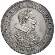 1 Thaler - Wolfgang Wilhelm – obverse