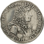 1 Gulden - Philipp Wilhelm von Neuburg – obverse
