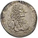 1 Gulden - Philipp Wilhelm – obverse