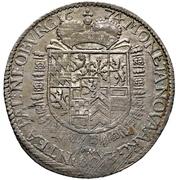 1 Gulden - Philipp Wilhelm – reverse