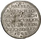 ½ Schilling - Wolfgang Wilhelm (Halber Bayrischer Schilling) – reverse