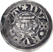 1 Pfennig - Rupert I. (Amberg) -  obverse