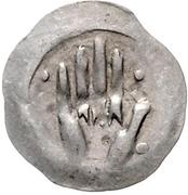 1 Heller - Ruprecht I. (Hand heller) – obverse