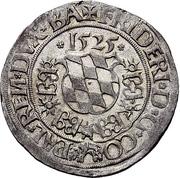 1 Batzen - Friedrich II. – obverse
