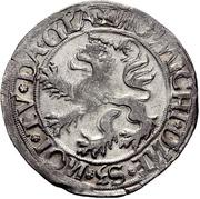 1 Batzen - Friedrich II. – reverse