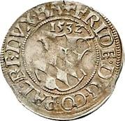 ½ Batzen - Friedrich II. – obverse