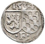 1 Pfennig - Friedrich II. -  reverse