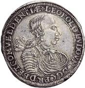 1 Thaler - Leopold Ludwig – obverse