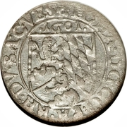 3 Kreuzer - Rudolf II (Johann I) – reverse