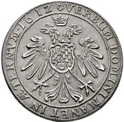 1 Thaler - Johann II. – reverse