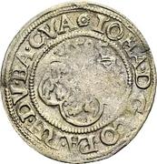 3 Kreuzer - Johann I. – obverse