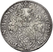 1 Thaler - Johann I – reverse