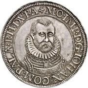 1 Thaler - Johann I – obverse