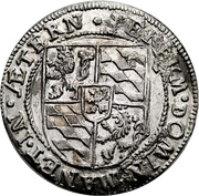 ¼ Thaler - Johann II – reverse