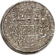 1 Thaler - Johann II – reverse