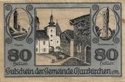80 Heller (Pfarrkirchen im Mühlkreis) -  obverse