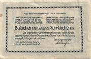 80 Heller (Pfarrkirchen im Mühlkreis) -  reverse
