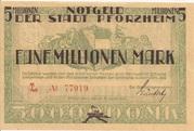 5,000,000 Mark – obverse