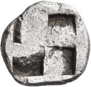 Trihemiobol – reverse