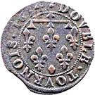 Double Tournois - Henriette of Lorraine (Principality of Phalsbourg and Lixheim, 2nd type) – reverse