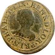 Double Tournois - Henriette of Lorraine (Principality of Phalsbourg and Lixheim, 1st type) – obverse