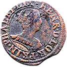 Double Tournois - Henriette of Lorraine (Principality of Phalsbourg and Lixheim, 2nd type) – obverse