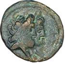 Dichalkos - Arados (Zeus and Hera, Athena over galley prow) – obverse