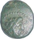 Dichalkos - Arados (Zeus, prow of galley) – obverse