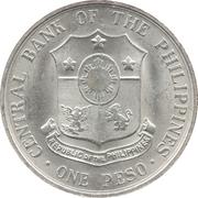 1 Peso (Andres Bonifacio) -  obverse
