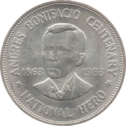1 Peso (Andres Bonifacio) -  reverse