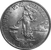 25 Centavos -  reverse