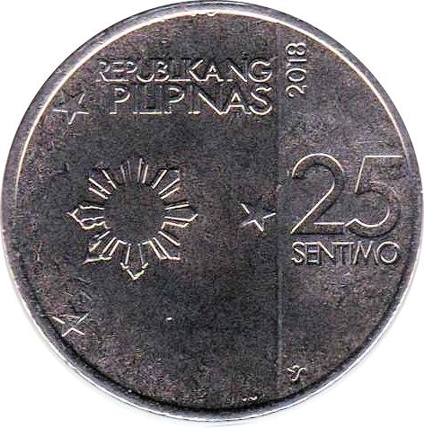 "1 sentimo Philippines set of 6 coins 10 piso 2017-2018 /""New Generation/"" UNC"
