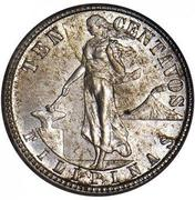10 Centavos (U.S. Administration) – reverse