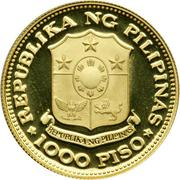 1000 Piso (New Society) – obverse