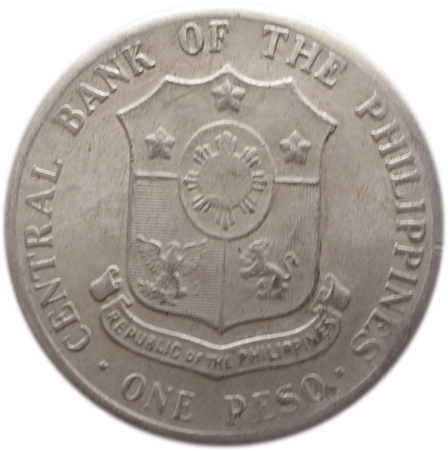 Central Bank Of The Philippines: 1 Peso (Andres Bonifacio)