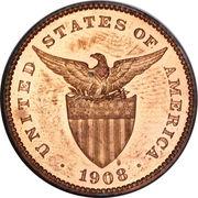 1 Centavo (U.S. Administration) – obverse