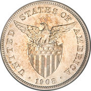 1 Peso (U.S. Administration) -  obverse