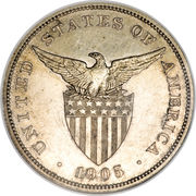 1 Peso (U.S. Administration) -  obverse