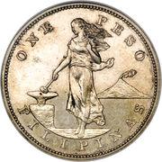 1 Peso (U.S. Administration) – reverse