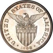 50 Centavos (U.S. Administration) -  obverse