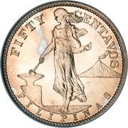 50 Centavos (U.S. Administration) -  reverse