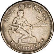 5 Centavos (Mule) -  reverse