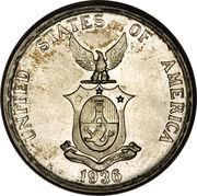 50 Centavos (Commonwealth) – obverse
