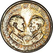 50 Centavos (Commonwealth) -  reverse
