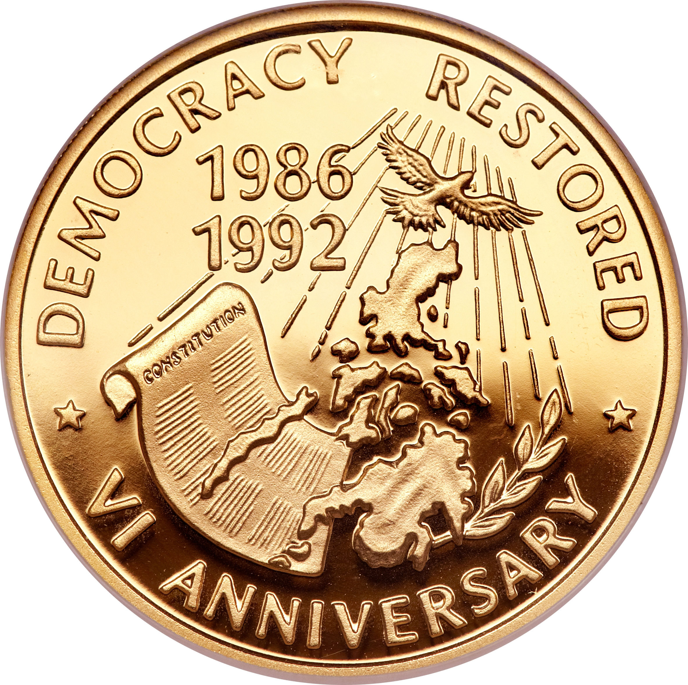 Coin Ph: 10 000 Pesos (Democracy)