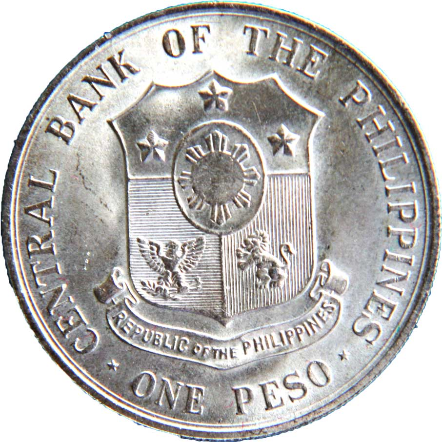 Central Bank Of The Philippines: 1 Peso (Apolinario Mabini)