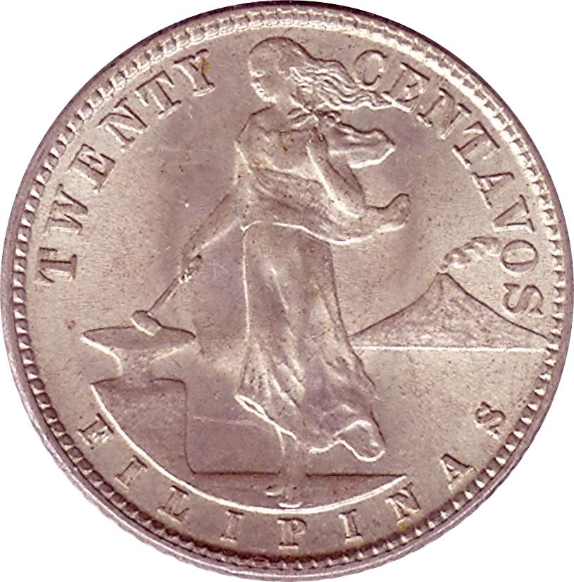 1944 d twenty centavos filipinas coin value